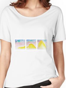 Yellow Mountains Women's Relaxed Fit T-Shirt