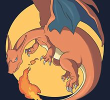 The Mighty Charizard by gunyuloid