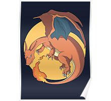 The Mighty Charizard Poster
