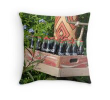 Coca Cola Delivery Throw Pillow