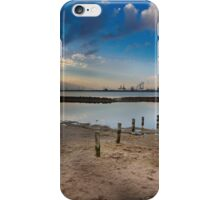Sand, Water and Industry. iPhone Case/Skin