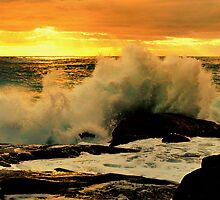 Contos Sunset Wave Breaker by Miles Moody