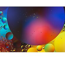 Oil on Water 11 Photographic Print