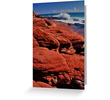 Kilbarri Shore Trolls Greeting Card