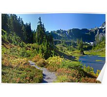 Bagley Lakes Trail, Mt. Baker Wilderness Area Poster