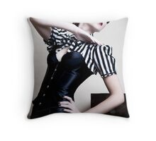 In Silent Harmony Throw Pillow