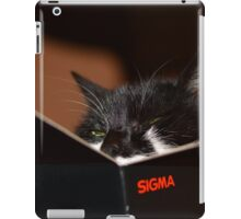 Sigma cat  iPad Case/Skin