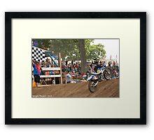 Jeremy Martin Framed Print