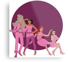 Disney Girls Metal Print