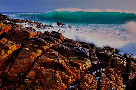 Wyadup Surf Hazard 4 by Miles Moody