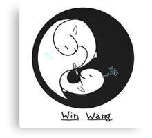 Yin Yang (Win Wang) Canvas Print