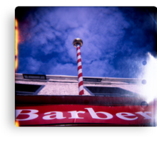 The Great Barber Pole In The Sky Canvas Print
