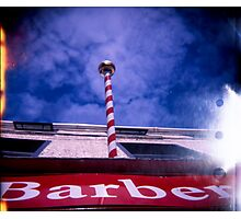 The Great Barber Pole In The Sky Photographic Print