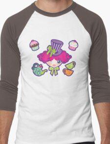 Mad Tea Party Men's Baseball ¾ T-Shirt