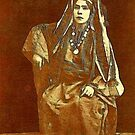 A Woman from Bethlehem the Holy Land 1889 by Dennis Melling