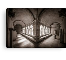 Exploring Cloisters II Canvas Print