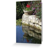 Garden Reflection Greeting Card