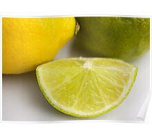 Lemon & Lime Poster