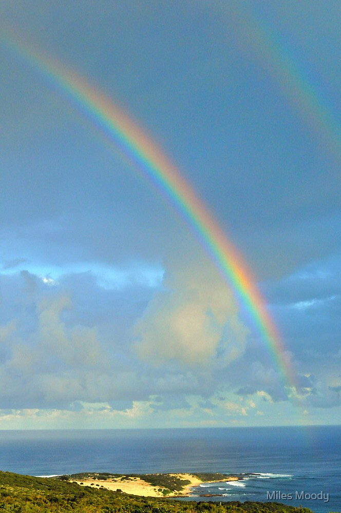 Injidup Point Rainbow (Cape Clairault) by Miles Moody