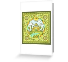 Urasa Greeting Card