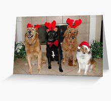A Very Furry Christmas Greeting Card