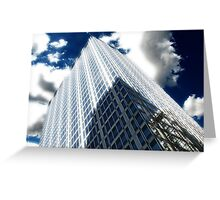 Cityscapes - Shadows, Reflections, and Clouds Greeting Card