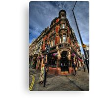 St James Tavern Canvas Print