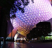 Epcot by Night by OM 2010
