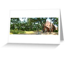 Grace Episcopal Church in St Francisville. Greeting Card