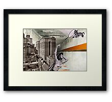 Chasing tigers Framed Print