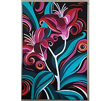 Lily Painting Photographic Print