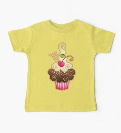 Scrumptious Cupcake Baby Tee