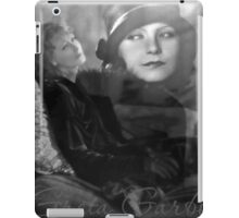Goddesses of the Classic Screen, no.9 (Throw Pillow) iPad Case/Skin