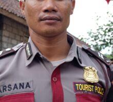 Tourist Police Sticker