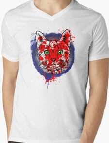 Kitty! Mens V-Neck T-Shirt