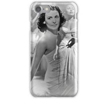 Goddesses of the Classic Screen, no.7 (Throw Pillow) iPhone Case/Skin