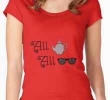 All T, All Shade Women's Fitted Scoop T-Shirt