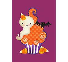 Halloween Cupcake Photographic Print