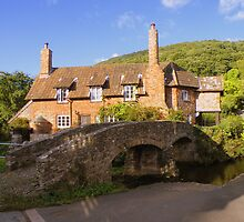 Exmoor: Packhorse Bridge at Allerford by Rob Parsons