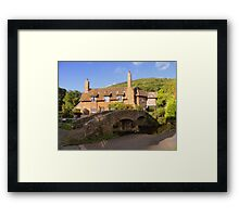 Exmoor: Packhorse Bridge at Allerford Framed Print