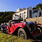 Exmoor: MG's at Selworthy Church by Rob Parsons