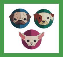 Cute puppies dog One Piece - Short Sleeve