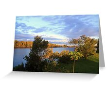 Manning River Afternoon Greeting Card