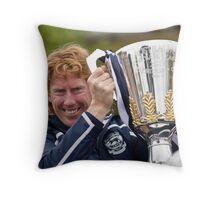 Captain Cameron Throw Pillow