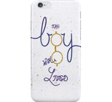 The boy ... iPhone Case/Skin