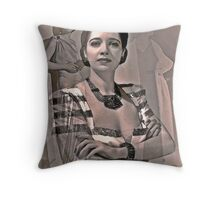 Goddesses Of The Classic Screen, no.12 (Throw Pillow) Throw Pillow