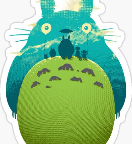 Totoro's Day Out Sticker