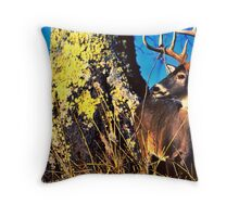 Mr. Magestic Throw Pillow