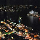 Circular Quay at night by andreisky
