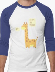 Giraffe Problems! Men's Baseball ¾ T-Shirt